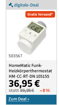 HomeMatic Funk-Heizkörperthermostat