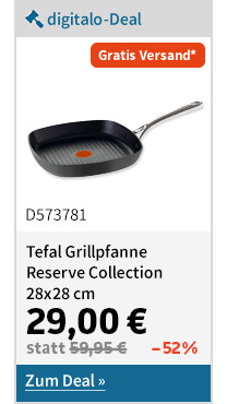 Tefal Grillpfanne Reserve Collection 28x28 cm