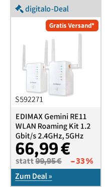 EDIMAX Gemini Re11 WLAN Roaming Kit 1,2 Gbits