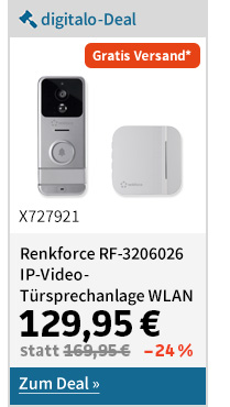 Renkforce IP-Video-Türsprechanlage